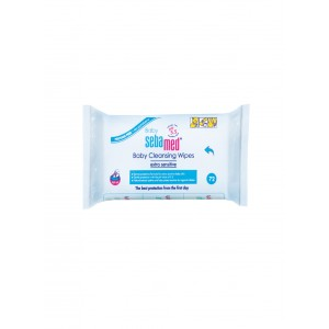 Buy Sebamed Baby Cleansing Wipes Extra Soft 72 Pcs  - Nykaa