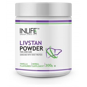 Buy INLIFE Livstan Protein Powder for Liver Support - Vanilla Flavour - Nykaa