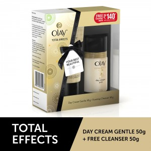 Buy OlayTotal Effects 7 In One Day Cream Normal + Free Foaming Face Wash - Nykaa