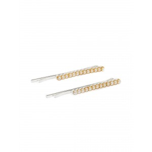Buy Toniq Set of 2 Pearl Bobby Pins - Nykaa