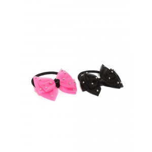 Buy Toniq Set Of 2 Bow Rubber Bands - Nykaa