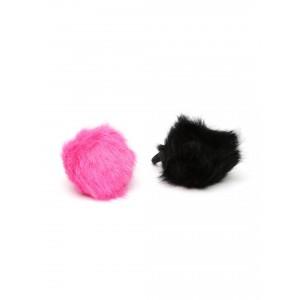 Buy Toniq Fuschia Fluffy Rubber Band - Nykaa
