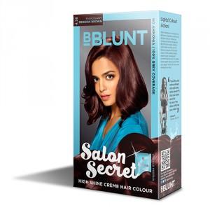 Buy BBLUNT Mini Salon Secret High Shine Creme Hair Colour - Nykaa