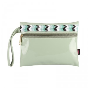 Buy Nykaa Bedazzled Pouch - Mint Green 03 - Nykaa