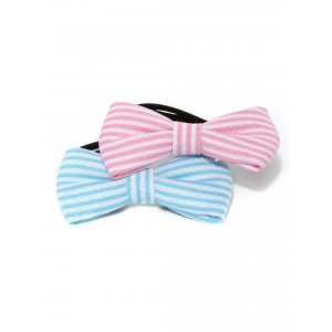 Buy Toniq Bow Down Pastel Shade Rubber Band Set - Nykaa