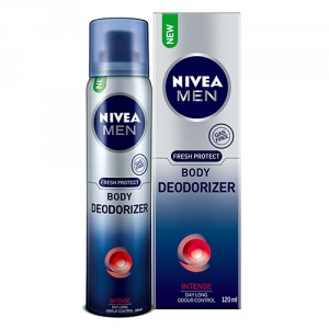 Buy Nivea Men Fresh Protect Body Deodorizer - Intense - Nykaa