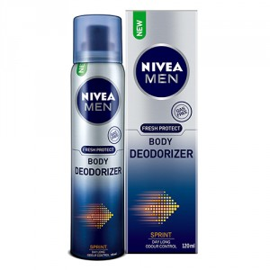 Buy Nivea Men Fresh Protect Body Deodorizer - Sprint - Nykaa