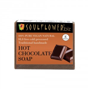 Buy Soulflower Hot Chocolate Soap - Nykaa
