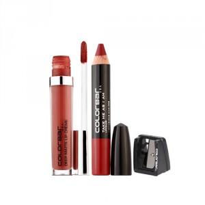 Buy Colorbar Deep Matte Lip Crème - Deep Coco 005 + Take Me As I Am Lipstick - 08 Mischievous Wine - Nykaa