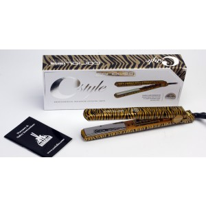 Buy Corioliss City Style Gold Zebra Titanium Hair Straightener - Nykaa