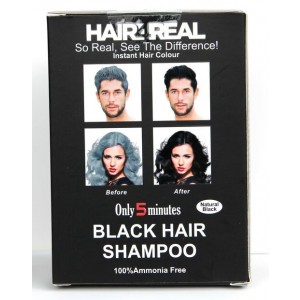 Buy Hair4Real Natural Black Hair Shampoo(Pack of 12 Sachet) - Nykaa