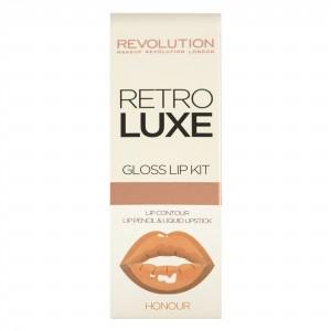 Buy Makeup Revolution Retro Luxe Gloss Lip Kit - Nykaa