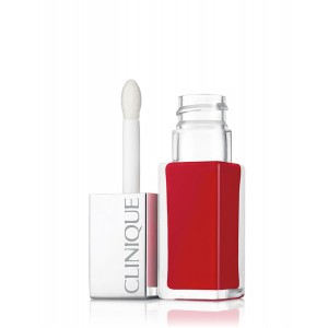 Buy Clinique Pop Lacquer Lip Colour + Primer - Lava Pop - Nykaa