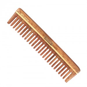Buy Herbal Roots Rosewood Wide Teeth Comb for Wavy/Curly Hair 2103 - Nykaa