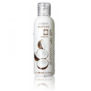 Buy Oriflame Nature Hair Oil With 100% Coconut Oil - Nykaa