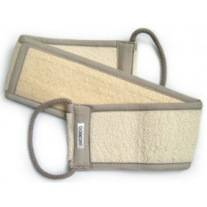 Buy Basicare Exfoliating Bath strap Loofah/Towelling - Nykaa