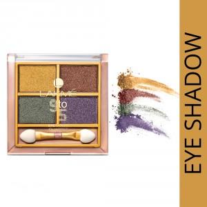 Buy Lakme 9 To 5 Eye Quartet Eyeshadow - Tanjore Rush - Nykaa