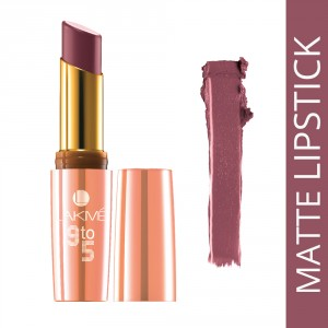Buy Lakme 9 To 5 Matte Lip Color - Nykaa