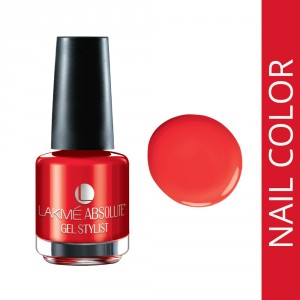 Buy Lakme Absolute Gel Stylist Nail Polish - Nykaa