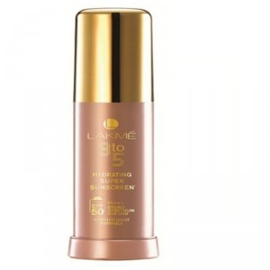 Buy Lakme 9 To 5 Hydrating Super Sunscreen SPF 50 - Nykaa