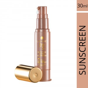 Buy Lakme 9 To 5 Mattifying Super Sunscreen SPF 50 - Nykaa