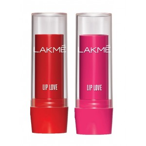 Buy Herbal Lakme Lip Love Lip Care - Cherry + Strawberry - Nykaa