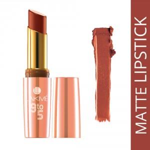 Buy Lakme 9 To 5 Matte Lip Color - MR 12 Crimson Catch - Nykaa