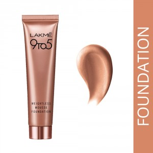 Buy Lakme 9 to 5 Weightless Mousse Foundation - Nykaa
