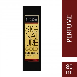 Buy Axe Signature Gold Dark Vanilla & Oud Wood Perfume - Nykaa