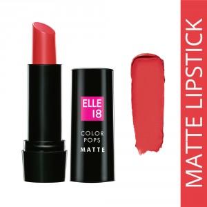 Buy Elle 18 Color Pops Matte Lip Color - Nykaa