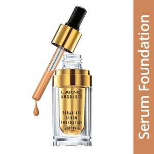 Buy Lakme Absolute Argan Oil Serum Foundation With SPF 45 - Nykaa