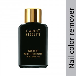 Buy Lakme Absolute Nourishing Nail Color Remover With Argan Oil - Nykaa