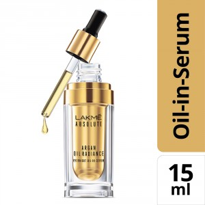 Buy Lakme Absolute Argan Oil Radiance Overnight Oil-in-Serum - Nykaa