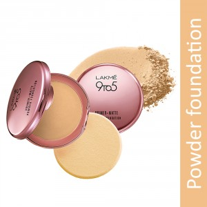 Buy Lakme 9 to 5 Primer + Matte Powder Foundation Compact - Nykaa