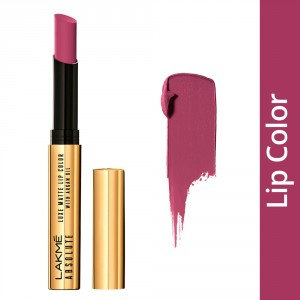 Buy Lakme Absolute Luxe Matte Lip Color With Argan Oil - Nykaa