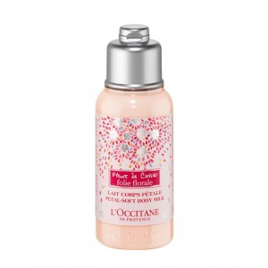Buy L'Occitane Cherry Blossom Folie Florale Petal-Soft Body Milk - Nykaa
