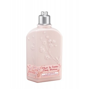 Buy L'Occitane Cherry Blossom Shimmering Lotion - Nykaa