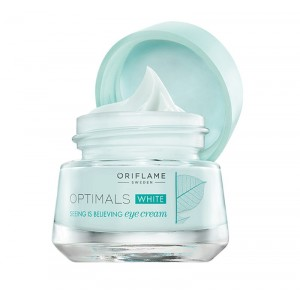 Buy Oriflame Optimals White Seeing is Believing Eye Cream - Nykaa