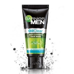 Buy Garnier Men Oil Clear Face Wash - Nykaa