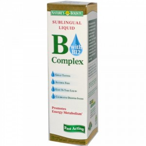 Buy Herbal Nature's Bounty Sublingual Liquid B-Complex With B-12 - Nykaa