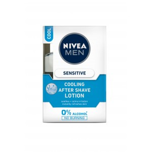 Buy Nivea Men Sensitive Cooling After Shave Lotion - Nykaa