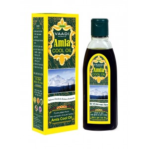 Buy Vaadi Herbals Amla Cool Oil With Brahmi & Amla Extract - Nykaa
