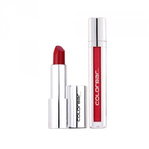 Buy Colorbar Kiss Proof Lip Stain - Royal Pink 002 + Ultimate 8hrs Stay Lipstick - Burn It Down 009 - Nykaa