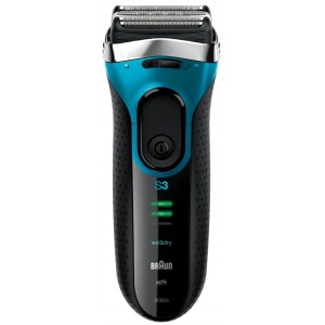 Buy Braun Series 3 3080 Rechargeable Wet And Dry Electric Foil Shaver - Nykaa