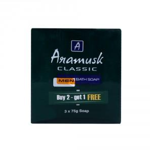 Buy Aramusk Classic Soap 75gm Buy 2 Get 1 - Nykaa