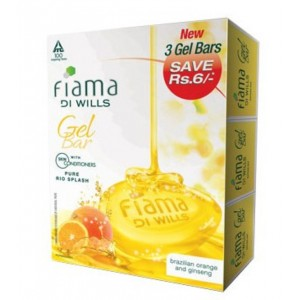 Buy Fiama Di Wills Pure Rio Splash Bathing Bar (Set Of Three) - Nykaa