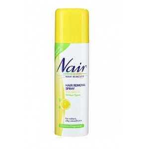 Buy Nair Hair Removal Lemon Spray - Nykaa