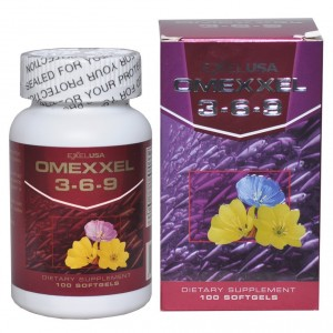 Buy Herbal ExxelUSA Omexxel Omega 3 - 6 - 9 Softgel Capsules 900 Mg - Nykaa
