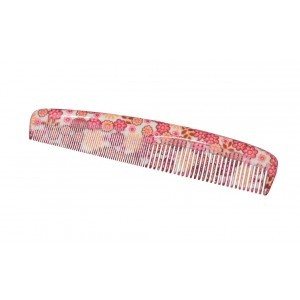 Buy FeatherFeel Printed Orange Gardenia Classic Comb - Nykaa