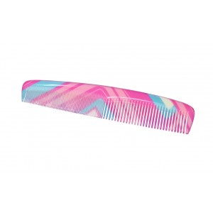 Buy FeatherFeel Printed Retro Pink Classic Comb - Nykaa